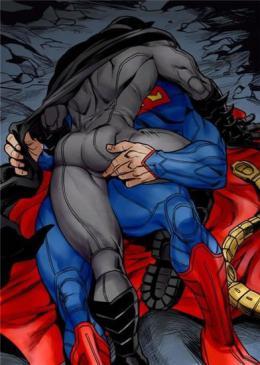 蝙蝠侠、超人的人生都有Bug,黑内裤红内裤的好基友